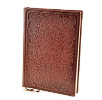 Ежедневник Антик недатированый, натуральная кожа, дизайнерская бумага