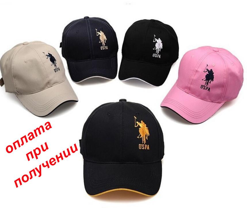 Чоловіча нова стильна і модна кепка, бейсболка USPA