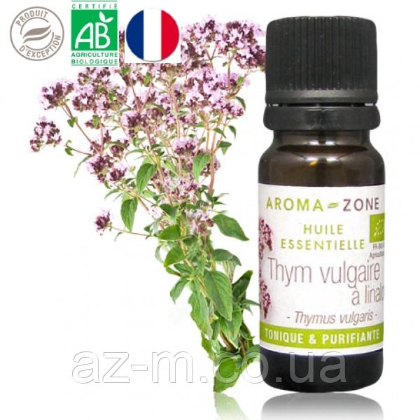 Тимьян линалоольный Прованс (Thymus vulgaris) BIO эфирное масло, 5 мл