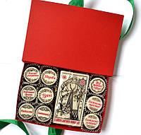 Набор шоколадок Св Николая любимым. Шоколадный набор с пожеланиями