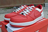Мужские кроссовки Nike Airforce красные /  кроссовки  мужские  Найк Аирфорс весна-осень, высокое качество