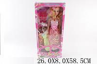 Кукла большая 2022V 1485596  24шт4 муз,платья,расческа,заколка,в коробке 26859см