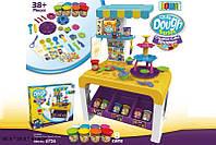 Набор для творчества 8726 8шт Стол, 8 цветов пластилина, аксессуары, в кор.652847см