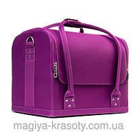 "Чемодан для косметики, шелковая серия ""Purple Silk"""