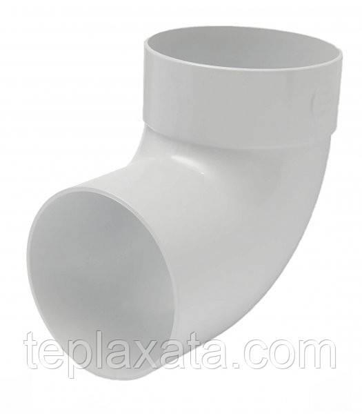RAINWAY 130/100 мм Отвод одномуфтовый 87 градусов 100 мм
