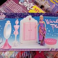 Детская мебель для Барби,шкаф