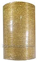 Лента золото 0.3 см