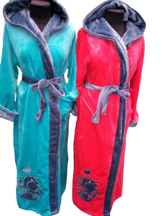 212f594069c71 Женский длинный махровый халат