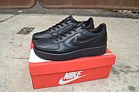 Мужские кроссовки Nike Air Max черные низкие/  кроссовки  мужские  Найк Аирмакс  демисезон, удобные
