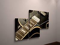 Модульная картина гитара