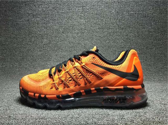кроссовки nike air max 2015 мужские оранжевые
