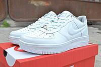 Мужские кроссовки Nike Air Max белые низкие/  кроссовки  мужские  Найк Аирмакс  демисезон, удобные