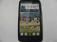 Чехол силиконовый для телефона смартфона Lenovo P780 чёрный