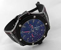Механические часы HUBLOT - Formula 1 - с автозаводом, каучуковый черный ремешок
