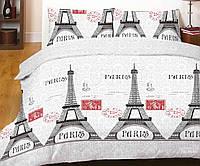 """Красивый,качественный набор постельного белья """"Париж"""" двухспальный"""