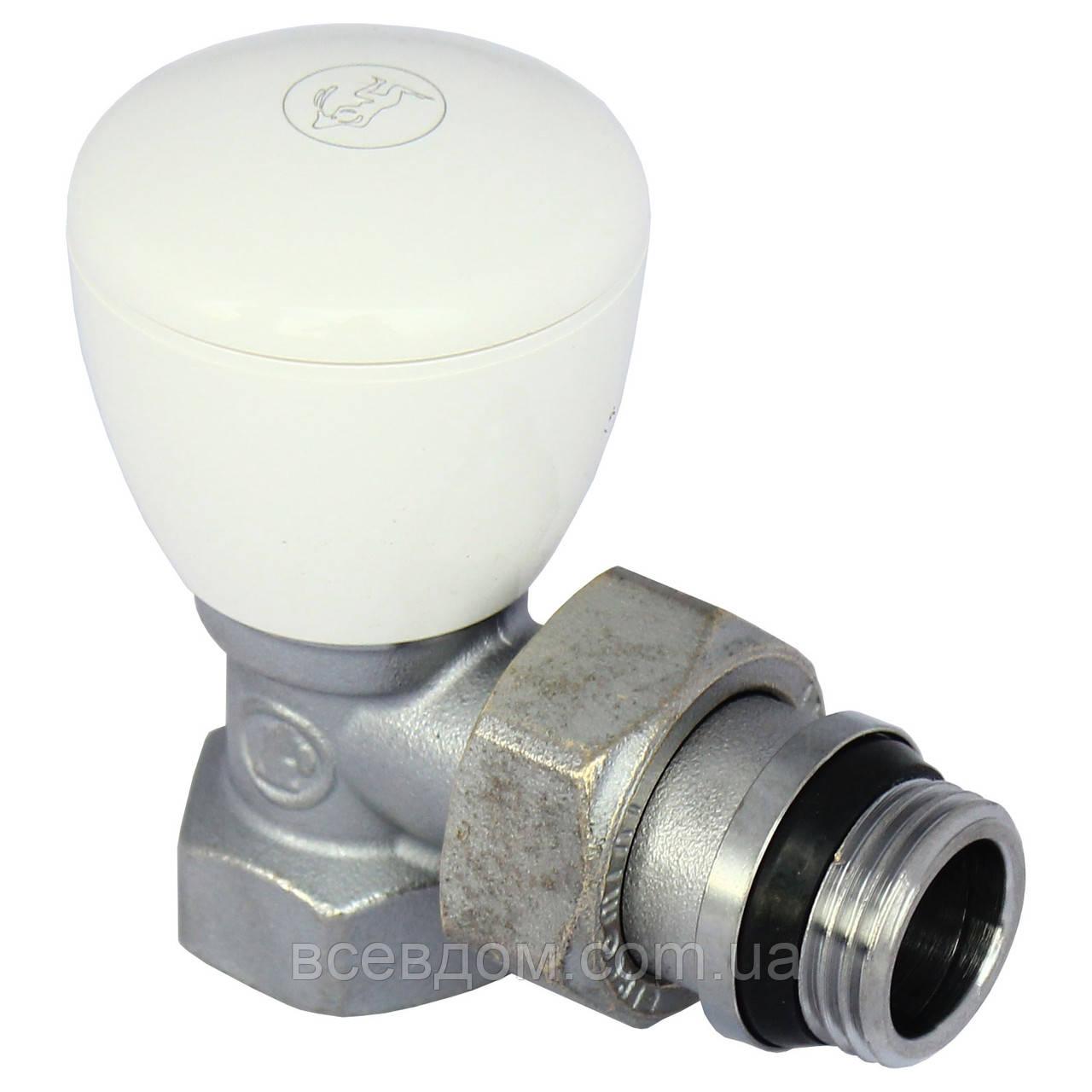 """Кран радиаторный Giacomini R5X033 1/2"""" угловой (ручной клапан)"""