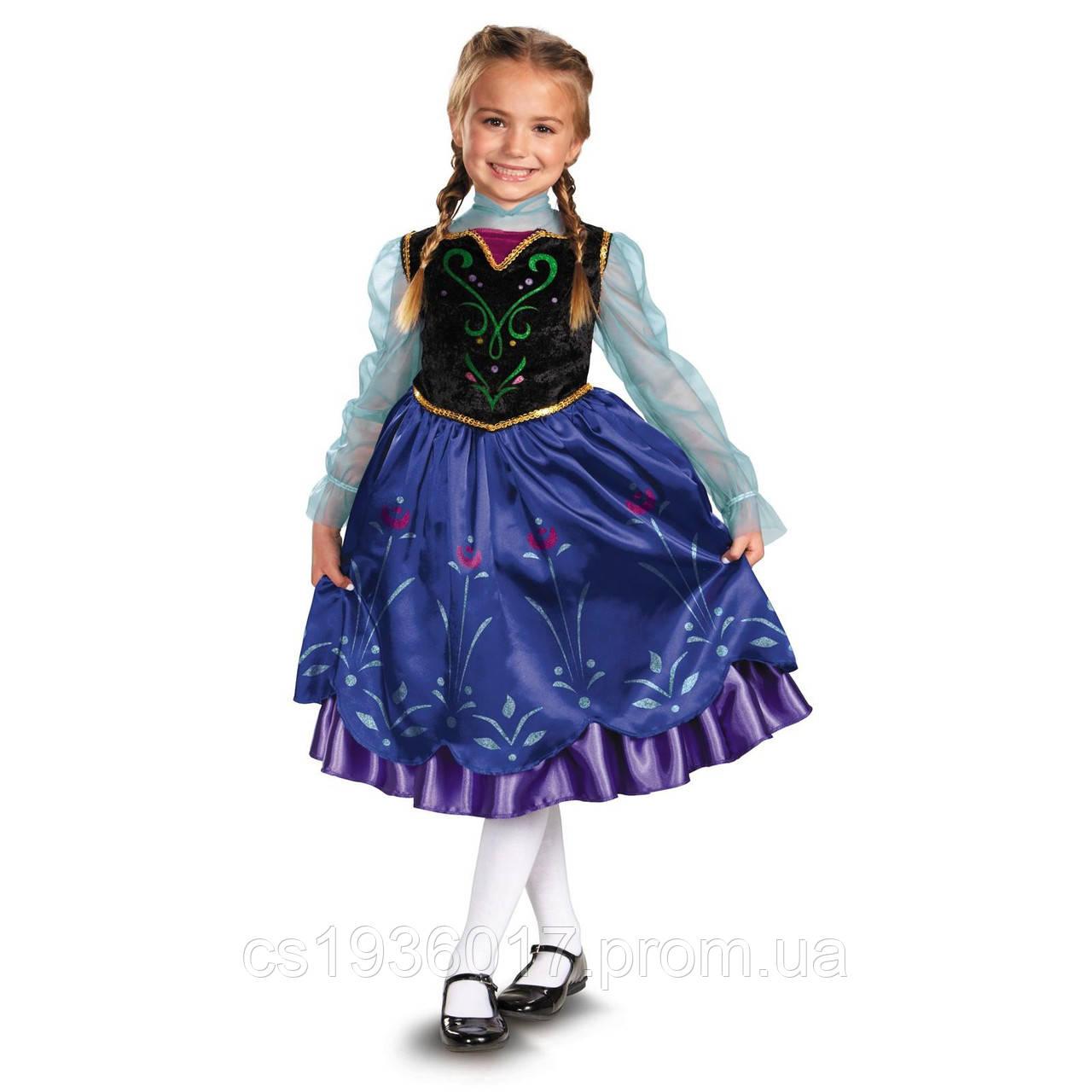 626333c8a36b209 Карнавальный костюм принцесса Анна Холодное сердце Deluxe Anna Frozen  Оригинал, цена 500 грн., купить в Одессе — Prom.ua (ID#437270914)