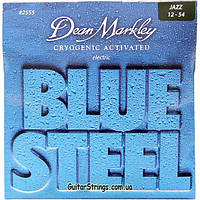 Струны Dean Markley 2555 Blue Steel Jazz 12-54