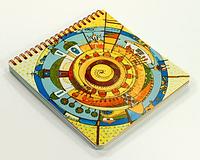 Блокнот Український Всесвіт 16,5x16,5 на 80 листов