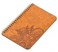 Блокнот Менди коричневые листы 16,5x16,5 см на 50 листов