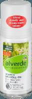 Alverde шариковый дезодорант для чувствительной кожи Deo Roll-On Sensitiv Aloe Vera, 50 мл
