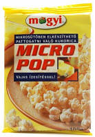Mogyi Попкорн для микроволновой печи с маслом, 100 г