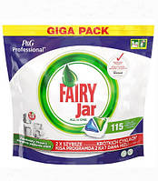 FAIRY Jar All-in-1 капсулы для посудомоечных машин, 115 шт.