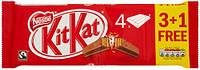 KitKat шоколадные батончики, 166 г