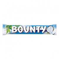 Bounty шоколадный батончик, 57 г