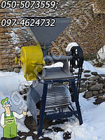 Каменная жерновая мельница бу из Германии повышенной производительности для измельчения, двигатель - 7.5 кВт, фото 1