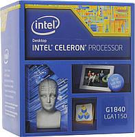 Процессор LGA 1150 Intel Celeron G1840 (2M Cache, 2.80 GHz).