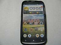 Чехол силиконовый для телефона смартфона Lenovo A850 чёрный
