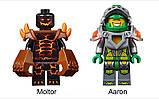 """Конструктор Lepin 14003 Nexu Knights (аналог LEGO 70313) """"Лавинный разрушитель Молтора"""", развивающие игрушки, фото 3"""