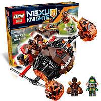"""Конструктор Lepin 14003 Nexu Knights (аналог LEGO 70313) """"Лавинный разрушитель Молтора"""", развивающие игрушки"""