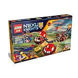 """Конструктор Nexo Knight 14004 """"Безумная колесница Укротителя"""", аналог LEGO 70314(329 дет), развивающие игрушки, фото 4"""