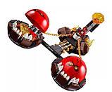 """Конструктор Nexo Knight 14004 """"Безумная колесница Укротителя"""", аналог LEGO 70314(329 дет), развивающие игрушки, фото 2"""