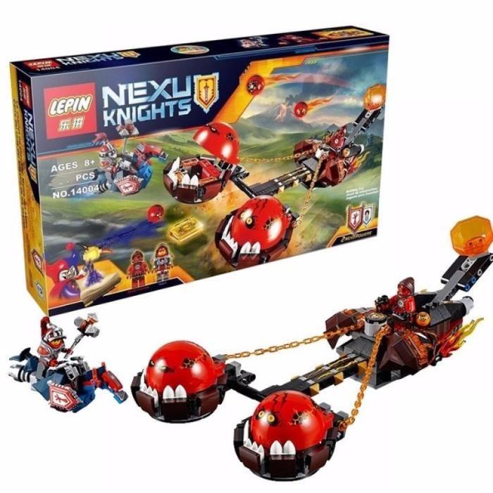 """Конструктор Nexo Knight 14004 """"Безумная колесница Укротителя"""", аналог LEGO 70314(329 дет), развивающие игрушки"""