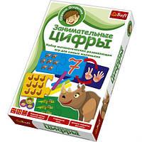 Игра Trefl Первые открытия 01103 Занимательные цифры Развивающая игра для детей
