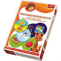 Игра Trefl Первые открытия 01105 Противоположности Развивающая игра для детей