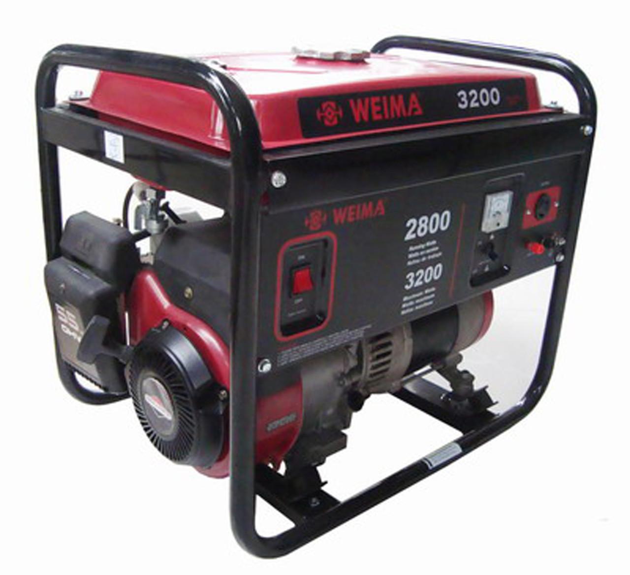 Бензиновый генератор Weima WM3200E (3,2 кВт)