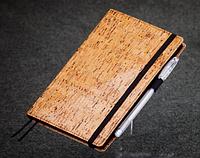 Блокнот с черной бумагой Бамбук стандарт 192 страницы экокожа