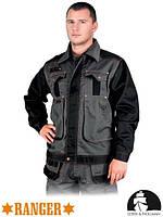 Куртка рабочая мужская защитная LH-RG-J (серый, чёрный)