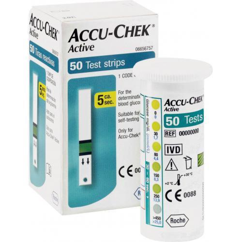 Тест-полоски Accu-Chek Active №50 Акку-Чек Актив 50шт