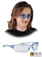 Очки защитные синие оптом MCR-LAW JN