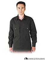Рубашка мужская рабочая LH-SHIRTER_L B  (хлопок 100%)