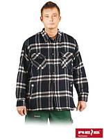 Рубашка мужская утепленная осень-зима KFTOP GW