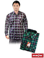 Рубашка мужская фланелевая KF- C3 (100% хлопок)