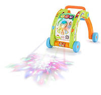 Развивающий центр-каталка 3 в 1 Activity Walker (свет, звук) Little Tikes Light 'n Go Activity Walker