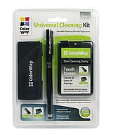 Набор ColorWay со стилусом для очистки планшетов, смартфонов (CW-4811), фото 1