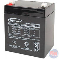 Аккумулятор АКБ 12В 5А/ч с электролитом LP (120*60*130) Ява